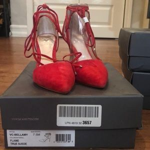 Vince Camuto Bellamy pumps 7.5 NEW (red)